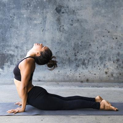 Design print yoga mattor