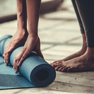 Grundläggande yogamattor